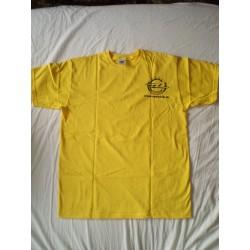 Tričko žlté s logom